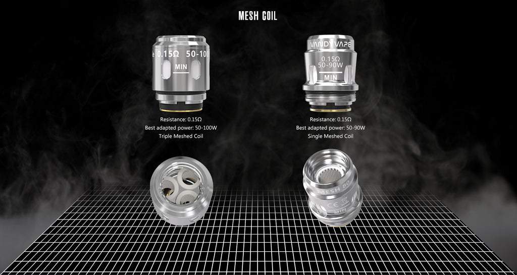 Vandy Vape Swell TC Box Mod Kit Mesh Coil