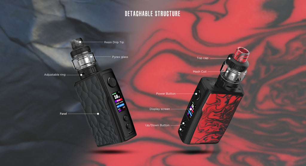Vandy Vape Swell TC Box Mod Kit Detachable Structure