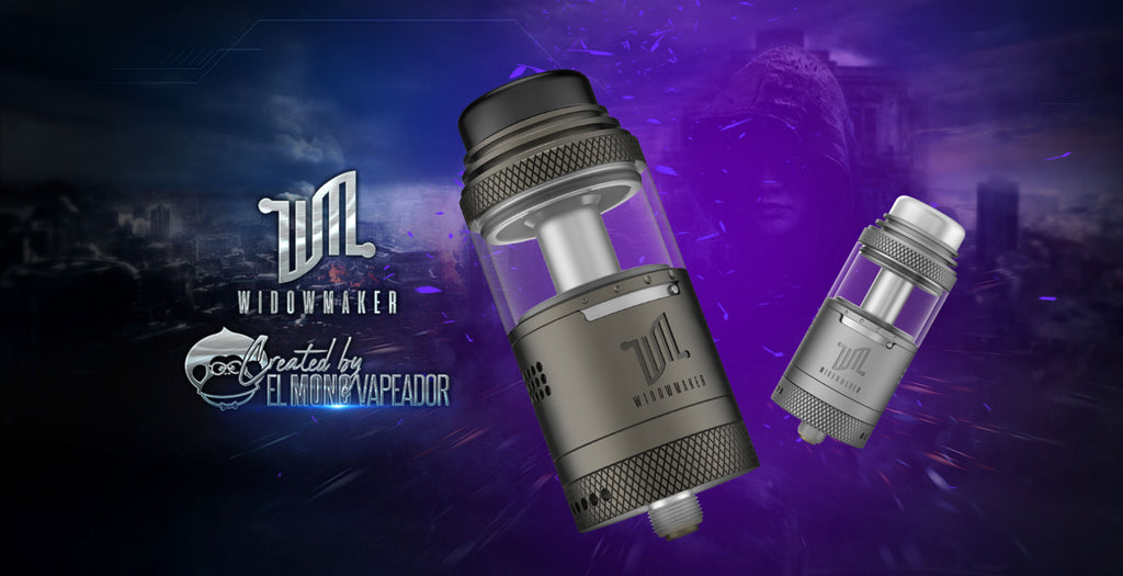 Vandy Vape Widowmaker RTA with Dual Airflow System 6ml 25mm