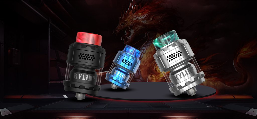 Vandy Vape Kylin M RTA 3ml Real Shots