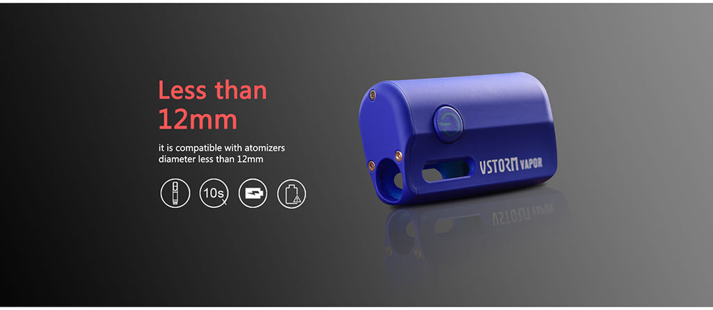 Vapor Storm M1 800mAh VV Box Mod Compatible With Atomizer Diameter Less Than 11mm
