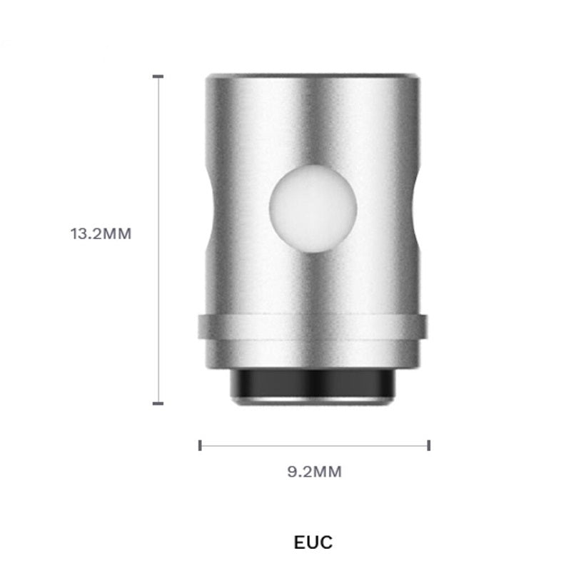 Vaporesso EUC Replacement CCELL Coil Head 1.0ohm Size