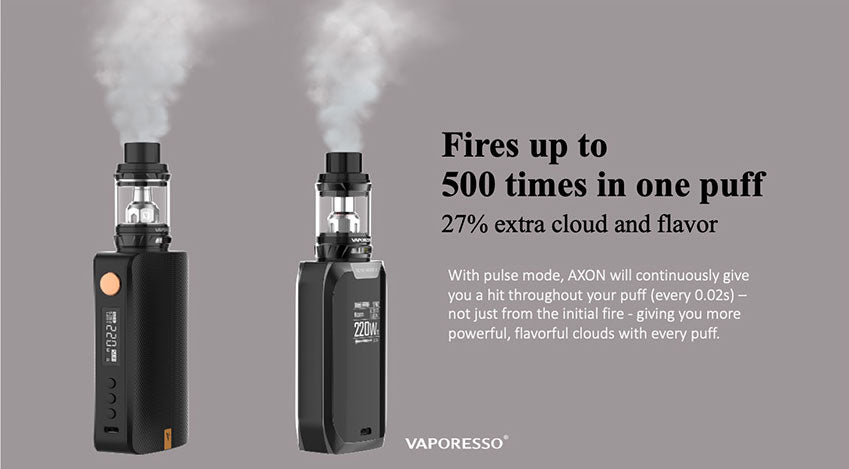Vaporesso GEN TC Mod Kit with SKRR-S Tank Fires Up To 500 Times In One Puff