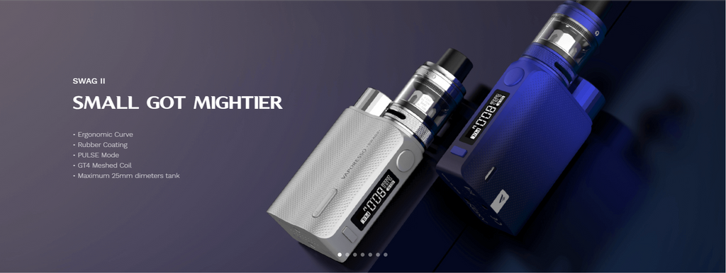 Vaporesso Swag ?? VW Box Mod Kit with NRG PE Tank 80W 3.5ml