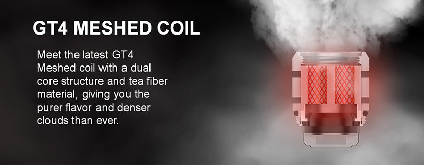 Vaporesso NRG PE Tank 80W 3.5ml GT4 Meshed Coil