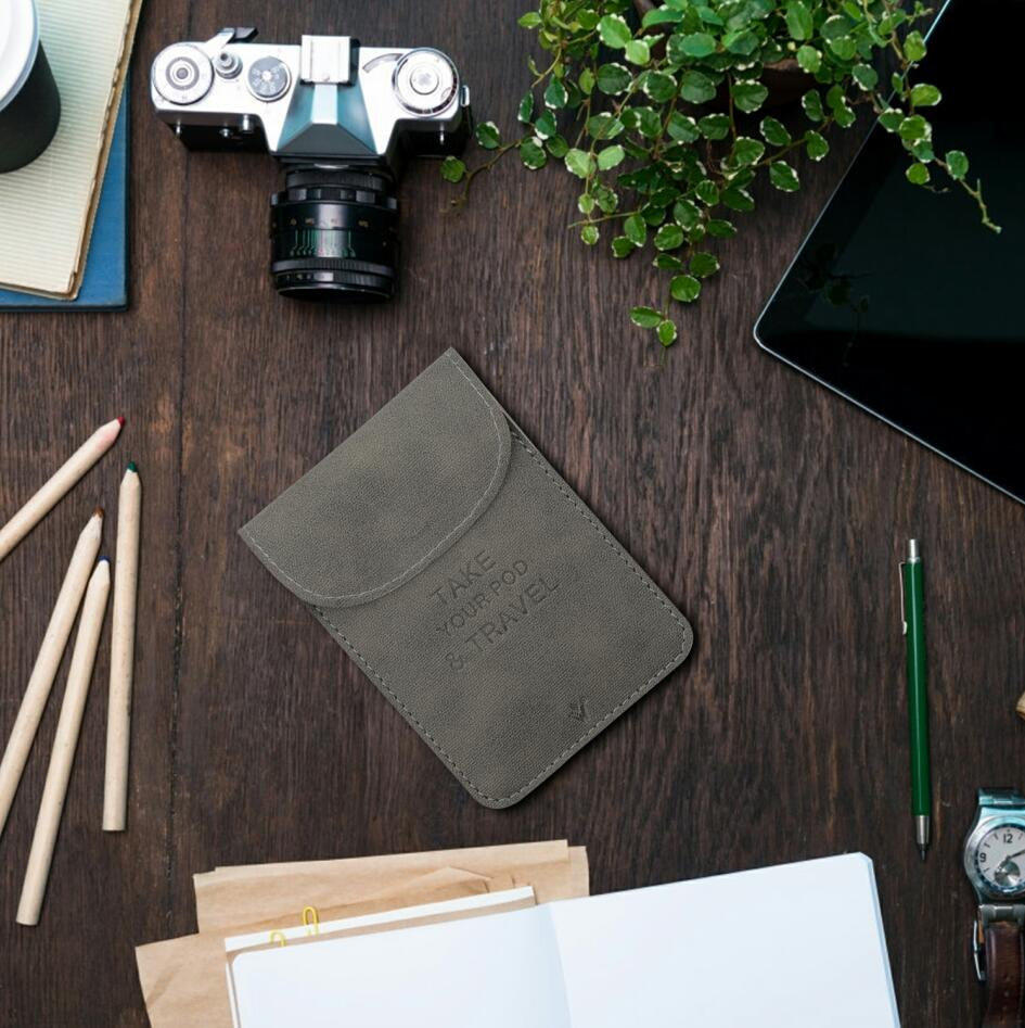 Vivismoke Leather Pocket Case Real Shots