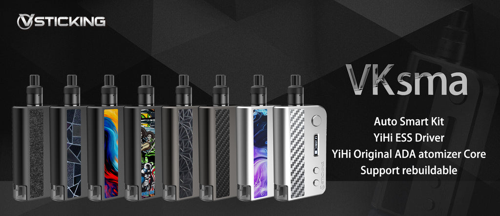 Vsticking VKsma TC Mod Kit with YiHi ESS Chipset Auto Bottom Filling 1400mAh 3ml