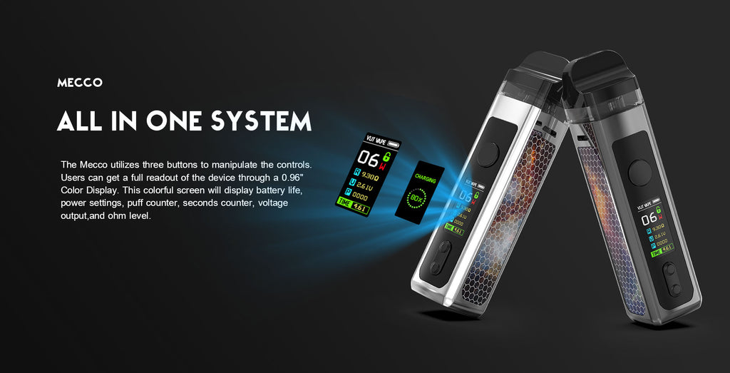 Vzone Mecco 40W Pod Mod VW AIO Kit All In One System