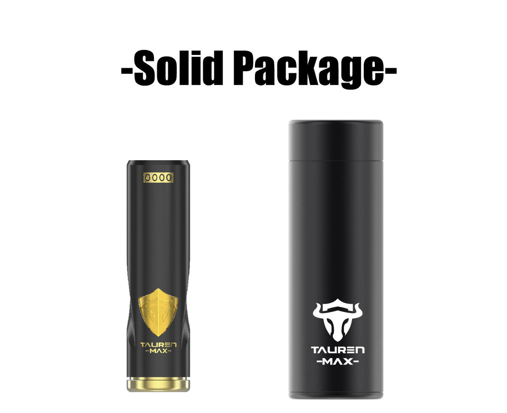 Thunderhead Creations Tauren Max Mechanical Mod Solid Package