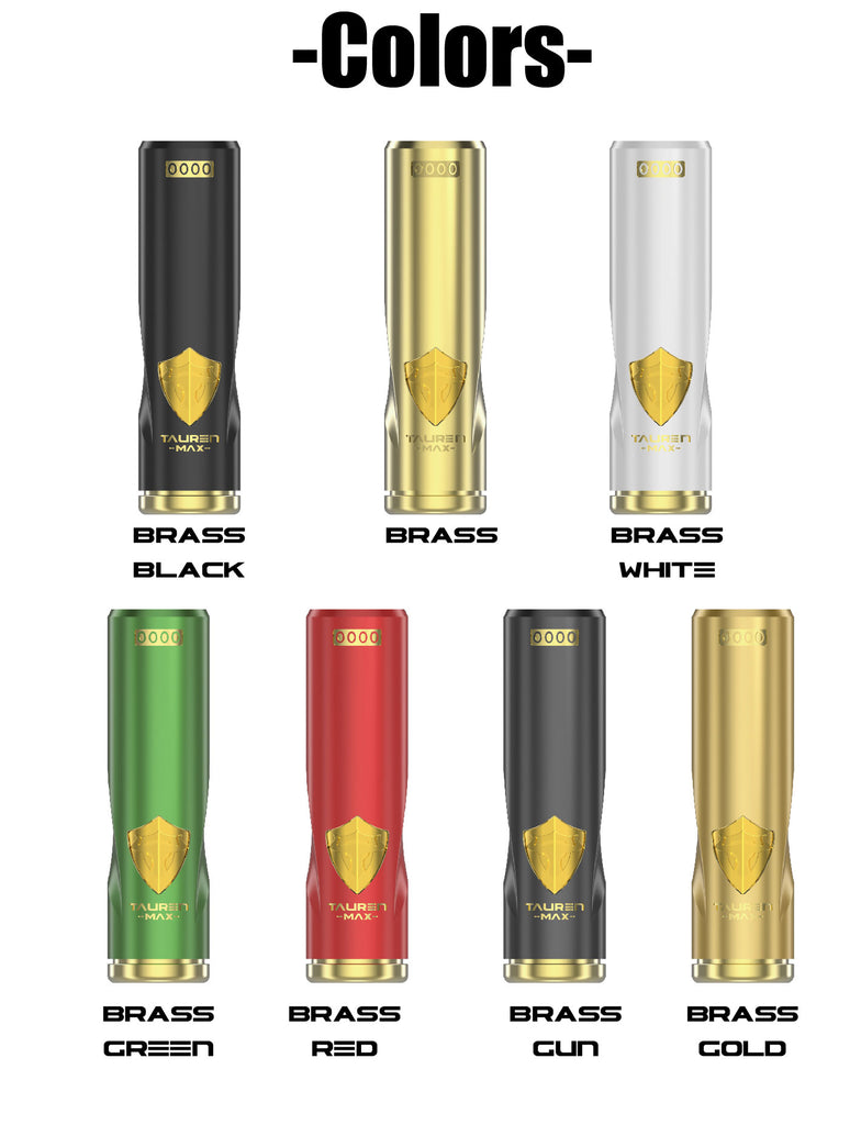 Thunderhead Creations Tauren Max Mechanical Mod Colors