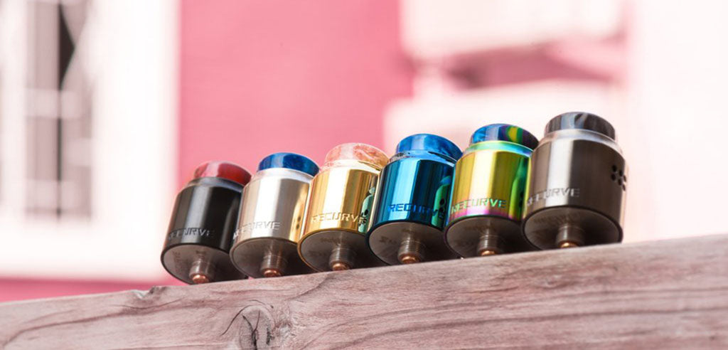 WOTOFO Recurve Dual RDA Color Available