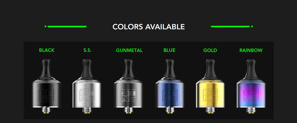 WOTOFO STNG MTL RDA 22mm Colors Available
