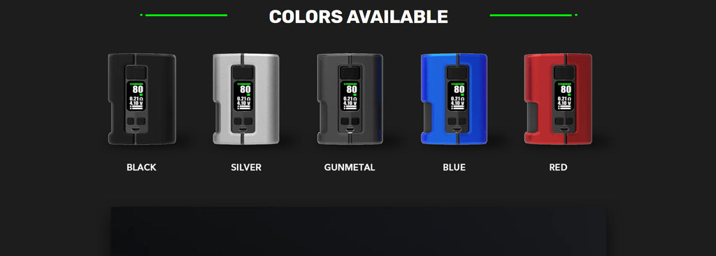 WOTOFO x Tony B Dyadic Squonk Mod Colors Available