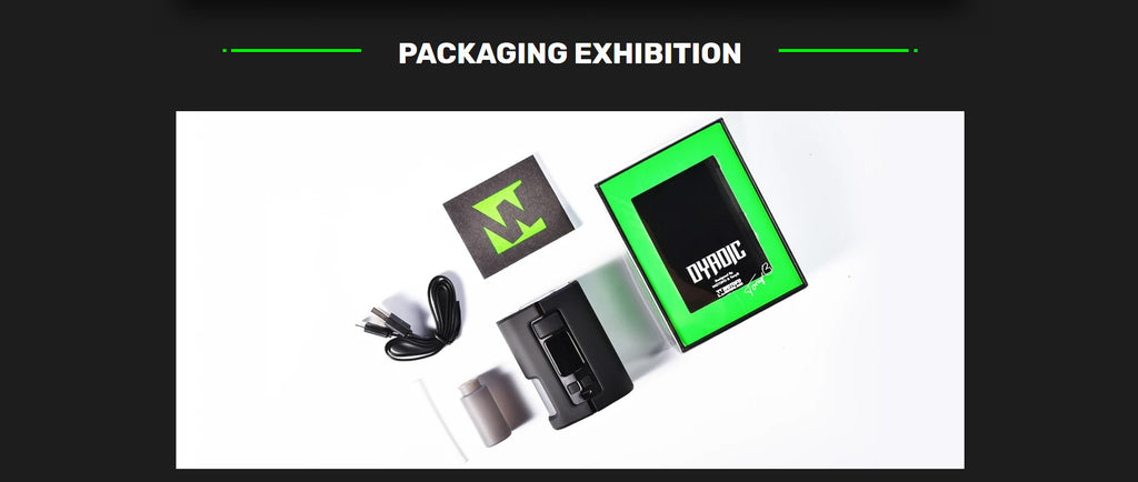WOTOFO x Tony B Dyadic Squonk Mod Packaging Exhibition