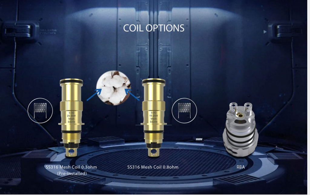 Wellon Beyond AIO Starter Kit 35W 2ml Coil Options