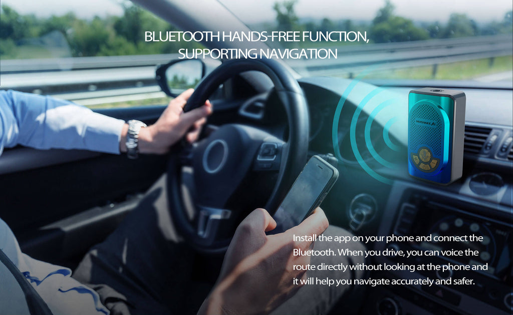 Bluetooth Hands-Free Function, Supporting Navigation