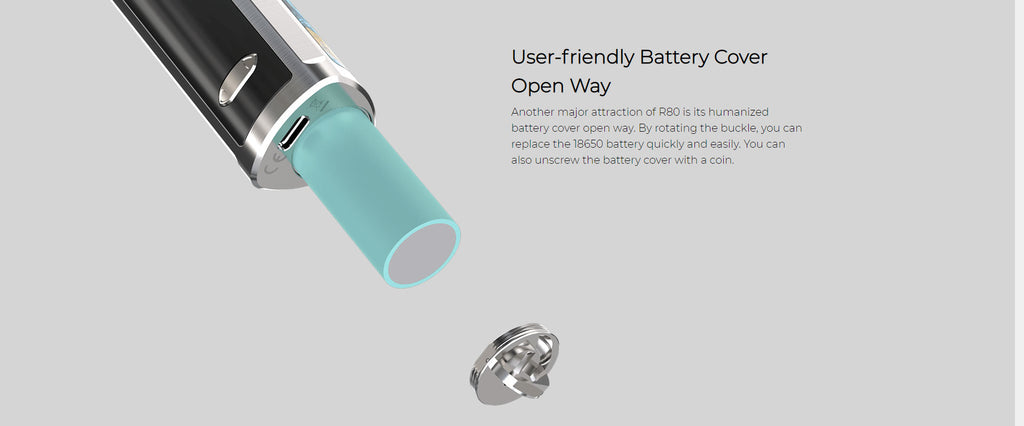 User-friendly Battery Cover Open Way