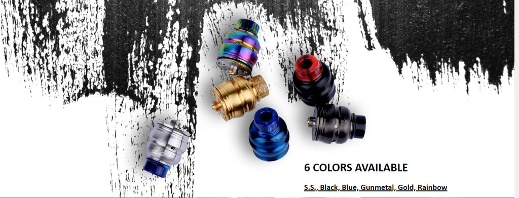 Wotofo Elder Dragon RDA 6 Colors Available