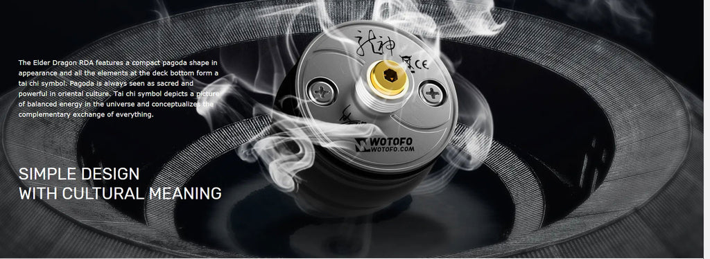 Wotofo Elder Dragon RDA Design