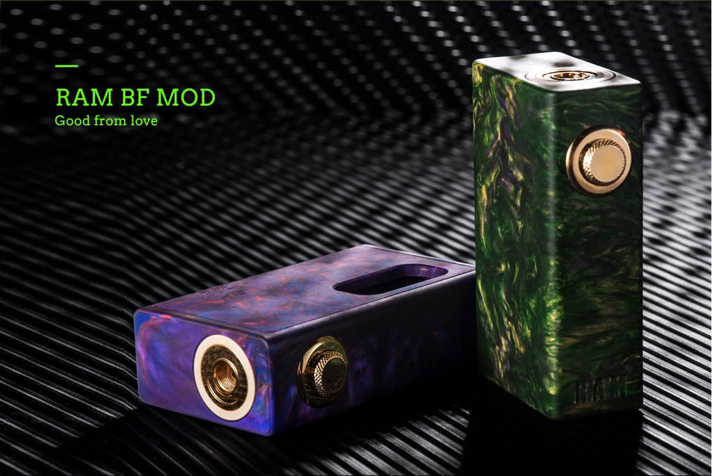 Wotofo RAM Squonk Mod Real Shots