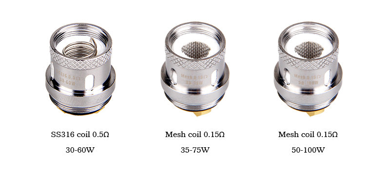 Yosta IGVI M2 Tank 6ml Mesh Coil Choose