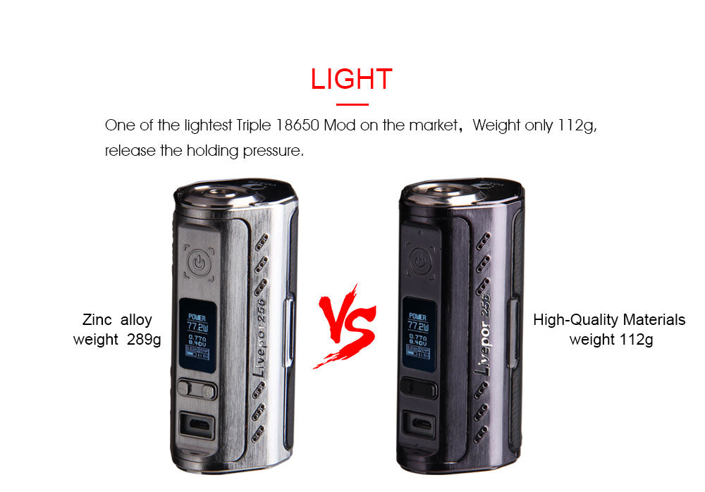 Yosta Livepor TC Box Mod 256W Lightweight