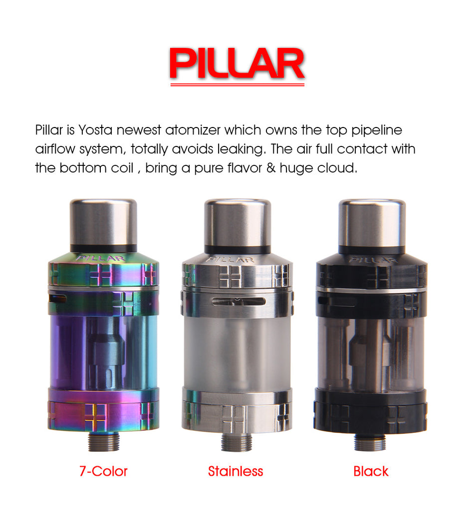 Yosta Pillar Tank 3.5ml 0.5ohm