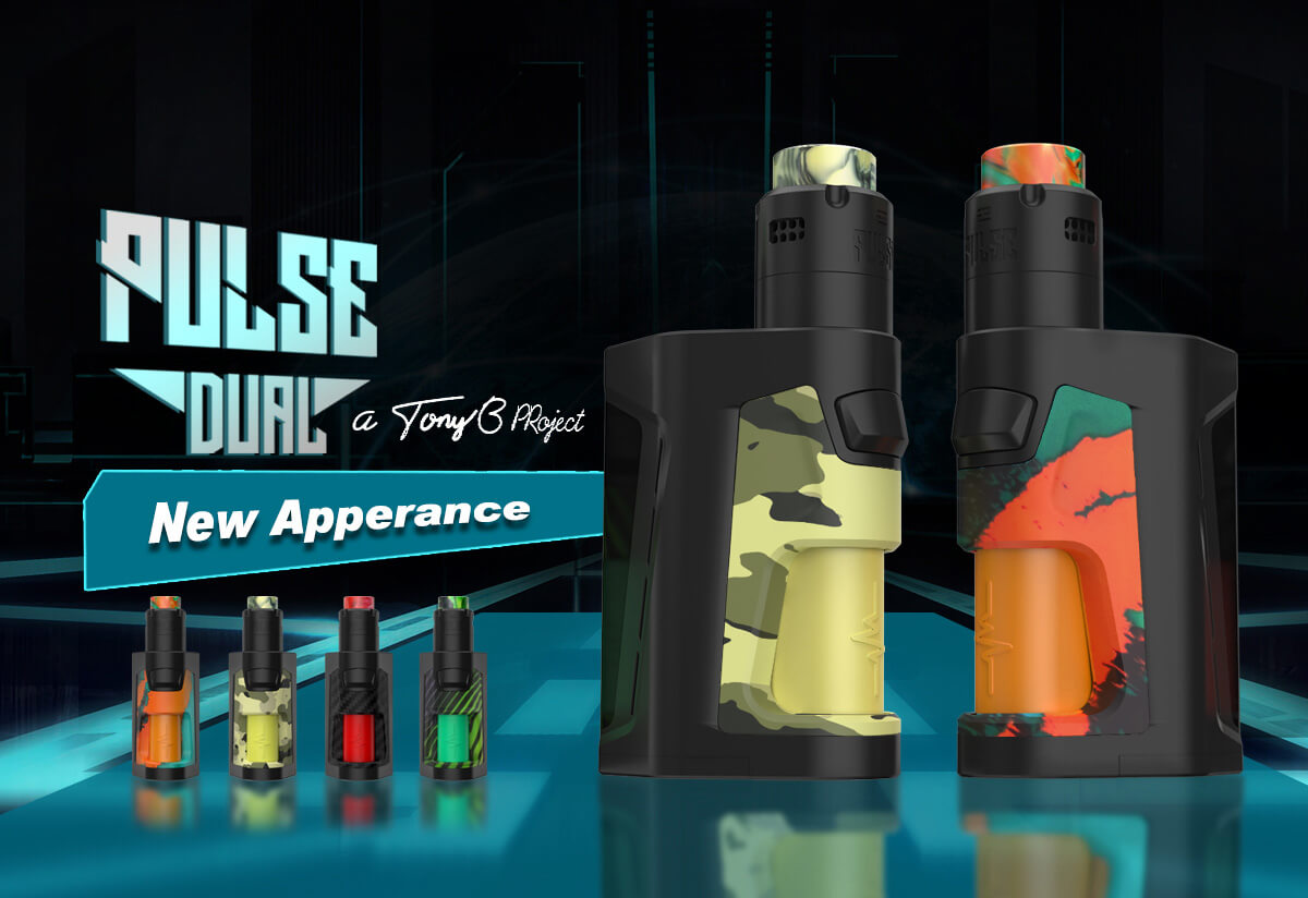 Vandy Vape Pulse Dual Kit with Pulse V2 RDA