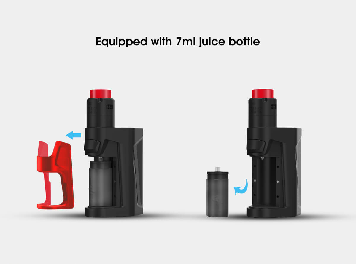 Vandy Vape Pulse Dual Kit Equipped With 7ml e-liquid Bottle