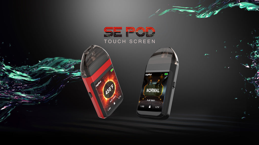 Syiko SE Vape Pod System with Touch Screen 650mAh 2ml