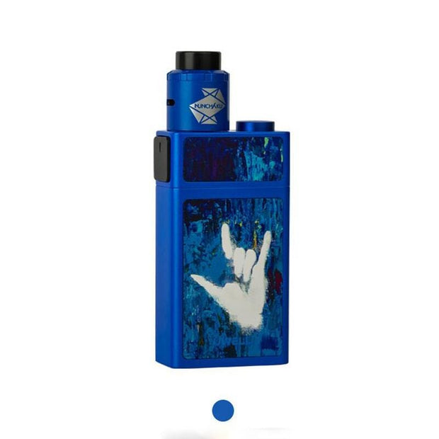 Uwell Blocks Squonk 90W Kit with Nunchaku RDA Sapphire Blue