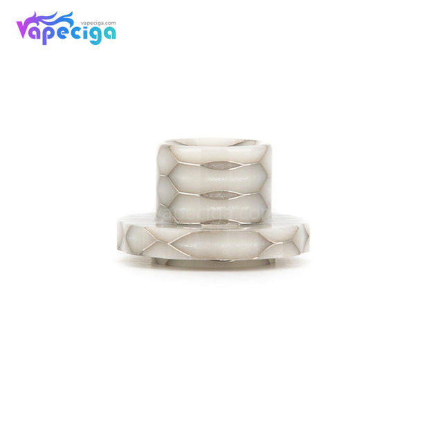 REEVAPE AS129S Resin Replacement Drip Tip White For Aspire Cleito 120 Tank