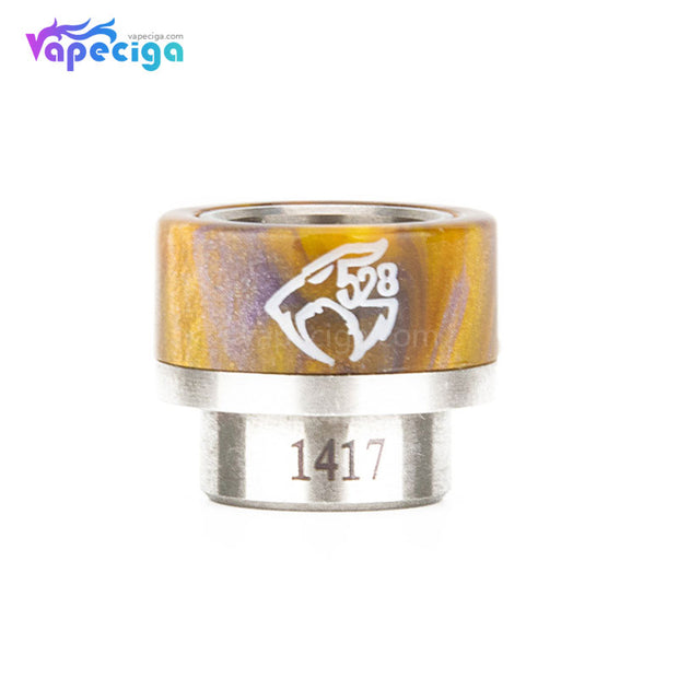 REEVAPE AS133 810  Resin Replacement Drip Tip Yellow2