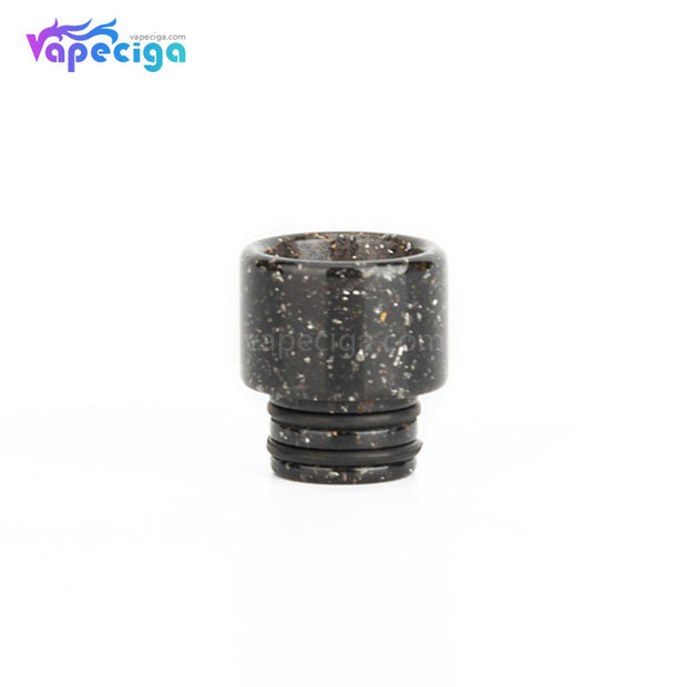 Black REEVAPE AS115E 510 Resin Replacement Drip Tip