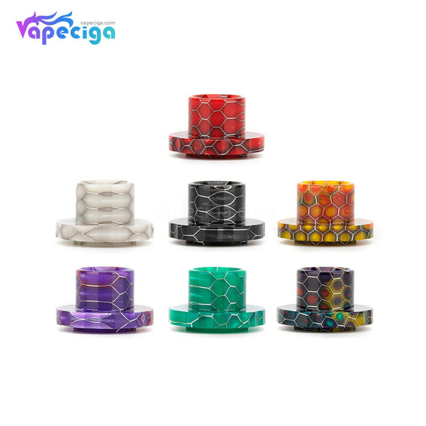 REEVAPE AS129S Resin Replacement Drip Tip 7 Colors Display For Aspire Cleito 120 Tank
