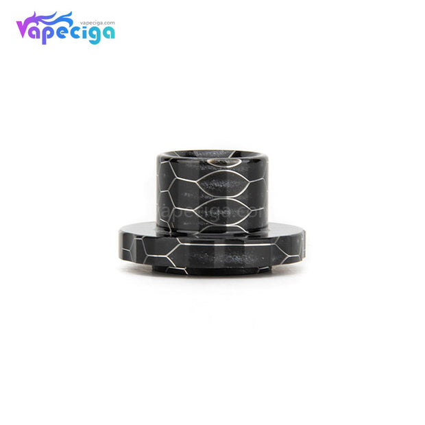 REEVAPE AS129S Resin Replacement Drip Tip Black For Aspire Cleito 120 Tank
