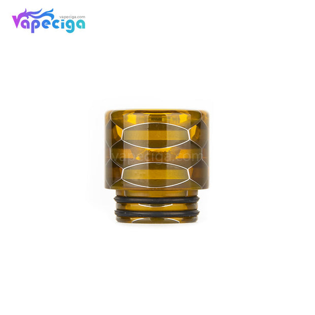 Yellow REEVAPE AS116S Transparent 810 Replacement Drip Tip