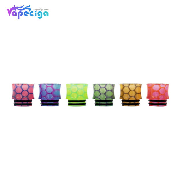 REEVAPE AS251WY  Universal 810 Resin Replacement Drip Tip 6 Colors Available