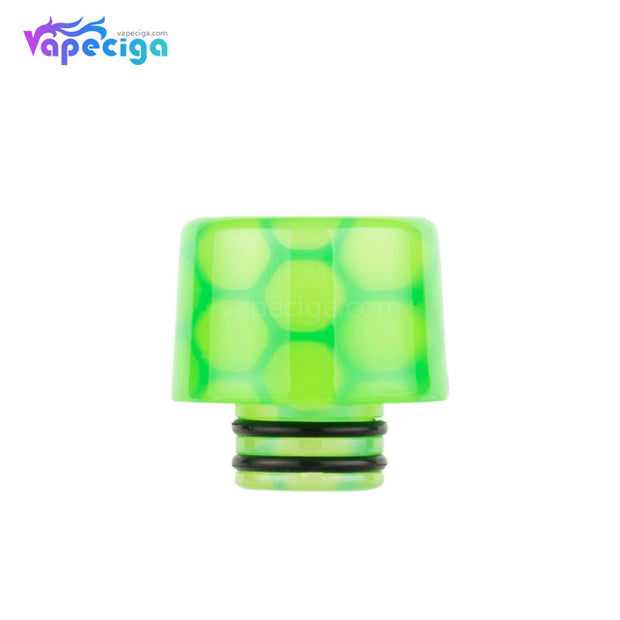 Green REEVAPE AS250WY Universal 510 Resin Replacement Drip Tip