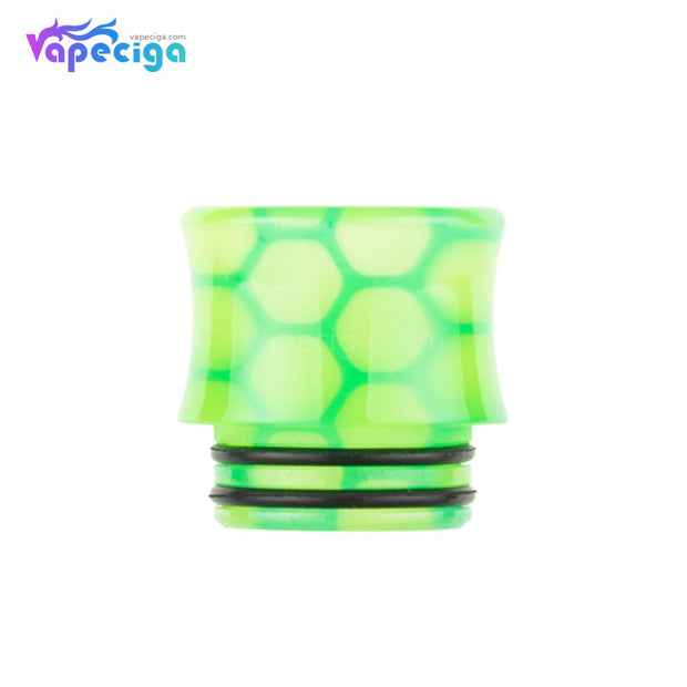Green REEVAPE AS251WY  Universal 810 Resin Replacement Drip Tip