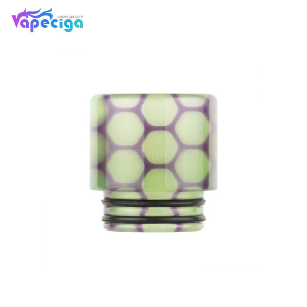 Green REEVAPE AS252WY  Universal 810 Resin Replacement Drip Tip