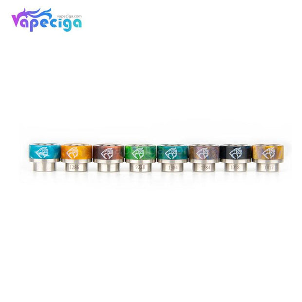 REEVAPE AS133 810  Resin Replacement Drip Tip 8 Colors Available