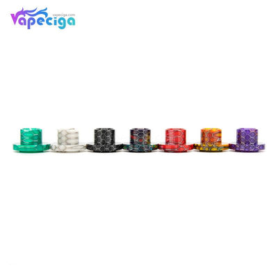 REEVAPE AS129S Resin Replacement Drip Tip For Aspire Cleito 120 Tank Colors Available