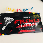 Vapefly Firebolt Cotton Package Real Shots