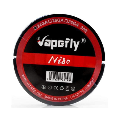 Vapefly Ni80 24GA 26GA 28GA 30ft Heating Wire