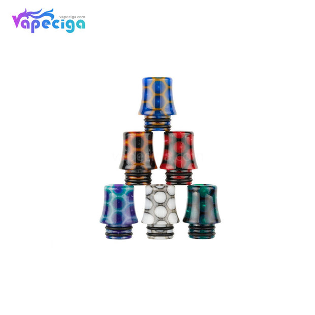 REEVAPE AS254SR 510 Resin Replacement Drip Tip 6 Colors Available
