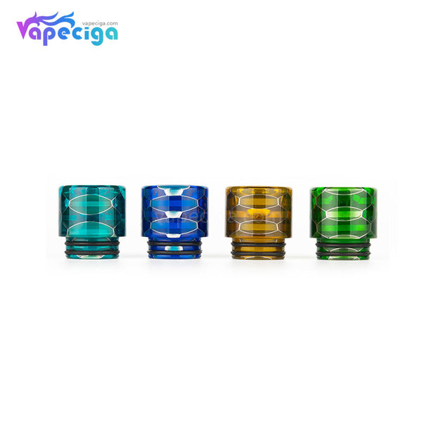REEVAPE AS116S Transparent 810 Replacement Drip Tip 4 Colors Available