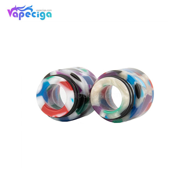 REEVAPE AS116D 810 Resin Replacement Drip Tip 2 Colors Display