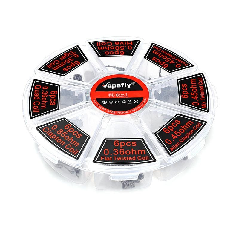 Vapefly 8-in-1 Heating Wire with 48pcs
