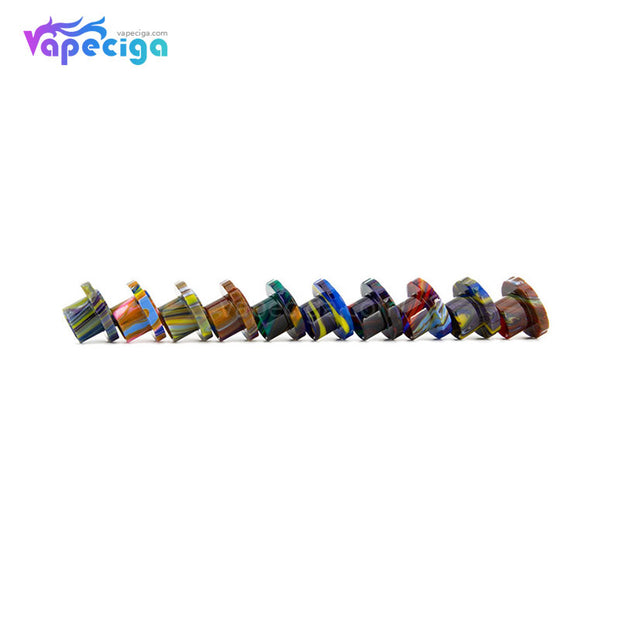 REEVAPE AS129 Resin Replacement Drip Tip For Aspire Cleito 120 Tank 10 Colors Display